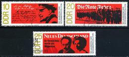 DDR - Michel 1417 / 1419 - OO Gestempelt (B) - Novemberrevolution