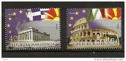 MACEDONIA 2014,TOWN ROME,ATHENE,MNH