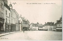 La Chatre - La Place Du Marché (pas Courante) - La Chatre