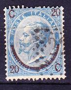Italien Italy Italie - König Viktor Emanuel II. (MiNr: 25 I) 1865 - Gest Used Obl