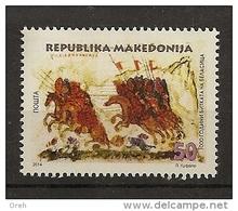 MACEDONIA,MAKEDONIEN 2014,BEATTLE BELASICA,HISTORY,,MNH
