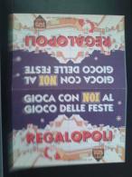ITALY-REGALOPOLI - Jeux De Société