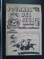 FRANCE-JURNAL DES JEUX,SPECIAL VIEILLES VOITURES - Puzzle Games