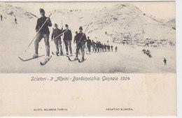 Bardonecchia - Sciatori Alpini    (A-21-100617) - Altre Città