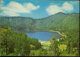 Romania, Postcard, Stationery, Code 945-75, Tusnad Bath, St. Ana Lake, Used 1975 - Ganzsachen