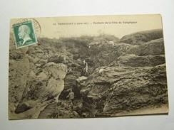 Cp1107 Tom15 PORNICHET Rochers De La Cote De Congrigoux 1925 - Pornichet