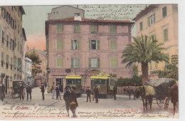 Nervi - Piazza Vitt.Emanuele Con Tram - 1905     (A-21-100609) - Altre Città