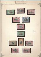 BELGIAN CONGO  1922/23 COB 95/103 + ... MNH