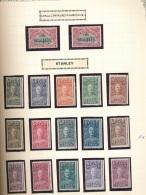 BELGIAN CONGO  1928 ISSUE STANLE COB 135/149 MNH POSTFRIS SANS CHARNIERE