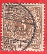 MiNr.45cb O Deutschland Deutsches Reich