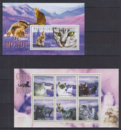 EE32 Guinea - MNH - Animals - Cats