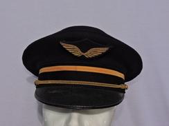 ANCIENNE CASQUETTE ARMEE De L'AIR - Années 1960 - SUPERBE ETAT #.2 - Headpieces, Headdresses