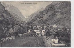 Bahn-Zollamt Madonna Di Tirano (Val Bregaglia) - Dr.Buomberger's Eisenbahn-Karten   (A-21-100609) - Dogana