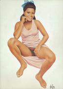 "4"" X 6""  [ 10 X 15 Cm ] Alain Aslan Erotic Pin-up  Postcard & Artcard Fine Nude  Female Naked Sexy Candid Model  AA#036 - Pin-Ups"