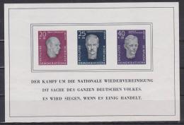 DDR Nationale Gedenkstätten Buchenwald (Mi. Block  15) Postfrisch, Rudolf Breitscheid Ernst Thälmann - Blocchi