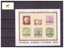 Chypre 1980 - MNH ** - Timbres Sur Timbres - Michel Nr. Bloc 11 (cyp290)