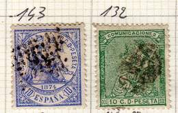 ESPAGNE YT 132 ET 143 - Used Stamps
