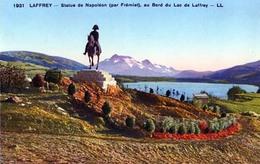 Statue De Napoleon Au Lac De Laffrey - France