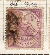 ESPAGNE YT 146 - 1873-74 Regency