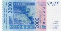 WEST AFRICAN STATES P. 816Te 2000 F 2012 UNC - Togo