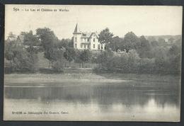 +++ CPA - SPA - Lac Et Château De Warfaz - De Graeve 4198   //