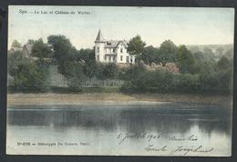 +++ CPA - SPA - Lac Et Château De Warfaz - De Graeve 4198 - Couleur 1906  //