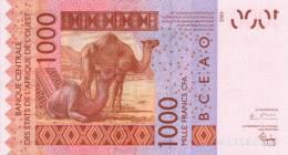 WEST AFRICAN STATES P. 715Kb 1000 F 2004 UNC - Sénégal