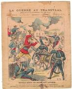 Couverture De Cahier 19° Siècle - La Guerre Du Transvaal N° 14 - Illustration Nouvelle Défaite Des Anglais - Animals