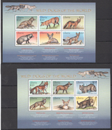 D61 LIBERIA FAUNA ANIMALS WILD DOGS OF THE WORLD 2KB MNH