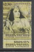 ARMENIA , 2016, MNH, SINGERS , TATEVIK SAZANDARIAN, 1v - Singers