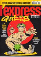 """"""" GOTLIB L'inventeur De La BD Adulte"""" -L'Express Hors-série 2004-TBE - Presseunterlagen"""
