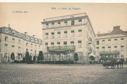 SPA / HOTEL DE FLANDRE / ATTELAGE  / TRES RARE