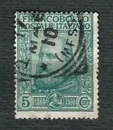 ITALIA 1910 - Effigie Di Giuseppe Garibaldi - Sa 87 - 1900-44 Vittorio Emanuele III