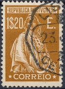 Stamp Portugal 1912  Ceres 1.20e Used Lot#65 - Usado