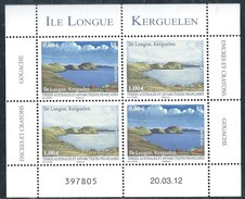 "TAAF 2012 "" Ile Longue Kerguelen "" Neuf Qualité Luxe"