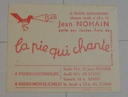 Radio Luxembourg La Pie Qui Chante - Kino & Theater