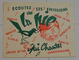 Radio Luxembourg La Pie Qui Chante - Film En Theater