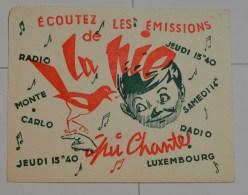 Radio Luxembourg La Pie Qui Chante - Cinéma & Théatre