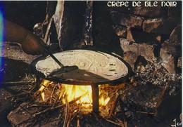 CPM   - RECETTE DE LA CREPE DE BLÉ NOIR  - NEUVE - Ed. JOS - Recepten (kook)