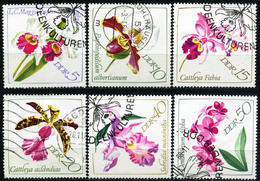 DDR - Michel 1420 / 1425 - OO Gestempelt (B) - Orchideen