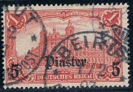 Reich Post, Levante, # 37, Used