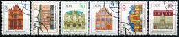 DDR - Michel 1434 / 1439 - OO Gestempelt (B) - Bauwerke III