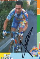 5541 Cp Cyclisme  Bart Leysen  Dédicacée - Cyclisme