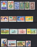 Scouting And Guiding Mounted Mint And Used Stamps - Scouting