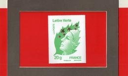 MARIANNE  DE  L ' EUROPE  --  Y & T  4662 M  --  20  G.  LETTRE  VERTE  --  BEAUJARD  --  NEUF........