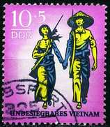 DDR - Michel 1476 - OO Gestempelt (D) - Unbesiegbares Vietnam