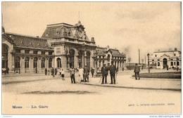 MONS (Belgique) Vue Extérieure De La Gare Animation - Mons