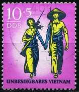 DDR - Michel 1476 - OO Gestempelt (E) - Unbesiegbares Vietnam