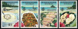 SEYCHELLES ILES ELOIGNEES, Gastronomie, Alimentation,  Cuisine Creole, Creole Cooking. Emis En 1989 **;, MNH - Alimentation