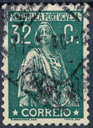 Stamp Portugal   Ceres 32c Used Lot#84 - 1910-... Republik